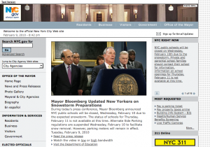 City of New York Website